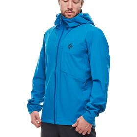 Black Diamond Fineline Stretch Rain Shell Jacket Men kingfisher